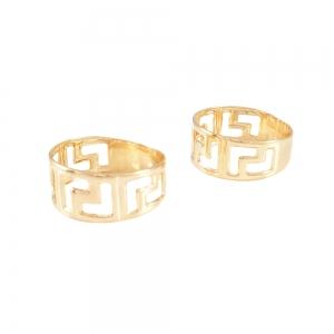 Inel placat cu aur marca SaraTremo