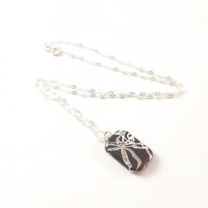 Lantisor din argint cu pandantiv Continental4