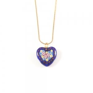 Colier Love din sticla de Murano1