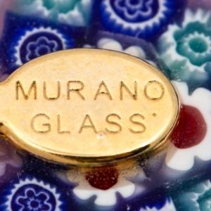 Colier din sticla de Murano Myth