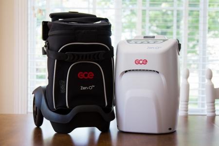 Concentrator de Oxigen portabil ZEN-O (2 baterii)3