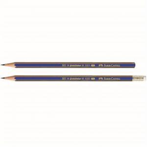 Creion Grafit Cu Guma Goldfaber 1221 Faber-Castell - HB