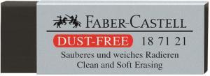 Radiera Creion Dust Free Neagra Faber-Castell
