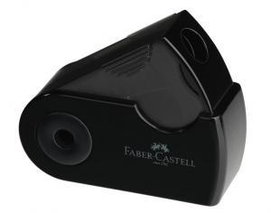 Ascutitoare Plastic Simpla Sleeve-Mini Faber-Castell - negru