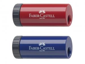 Ascutitoare Plastic Simpla Cu Container Faber-Castell