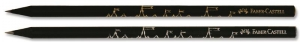 Creion Grafit HB Lemn Negru Display 72 Buc faber-Castell