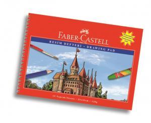 Bloc Desen A4, 15 file, 120 g/mp Faber-Castell