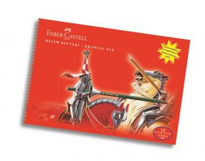 Bloc Desen A3, 15 file, 120 g/mp Faber-Castell