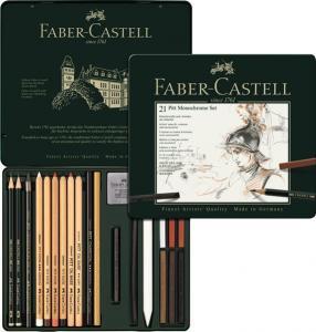 Set Pitt Monochrome 21 Buc Faber-Castell
