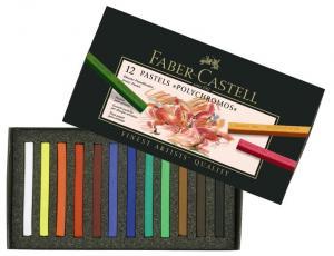 Creioane Pastel 12 Culori Polychromos Faber-Castell
