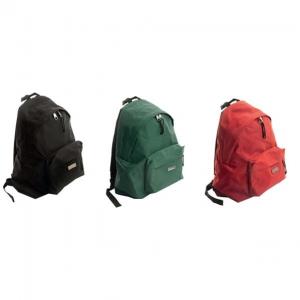 Ghiozdan Basic Diverse Culori Faber-Castell - verde