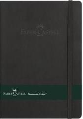 Agenda A5, 80 file, flexibila, coperte piele artificiala, Faber-Castell