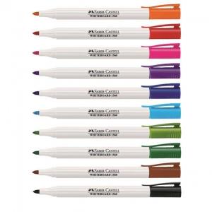 Marker Whiteboard Slim 1560 Faber-Castell - rosu
