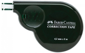 Banda Corectoare 4.2mm x 8m Faber-Castell