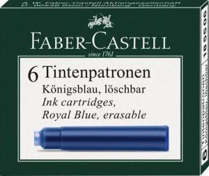 Cartuse Cerneala Mici Negru 6 Buc/Cutie Faber-Castell