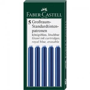 Cartuse Cerneala Mari 5 Buc/Cutie Faber-Castell