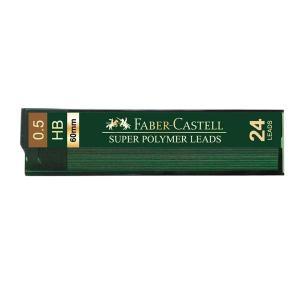 Mina Creion 0.5mm 24 Buc/Etui Super Hi-Polymer Faber-Castell - B