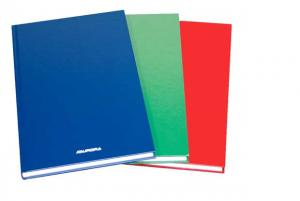 Registru cartonat A5, 96 file - 80g/mp, AURORA - dictando