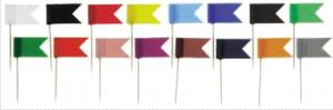 Stegulete colorate, 20/cutie, ALCO - galben