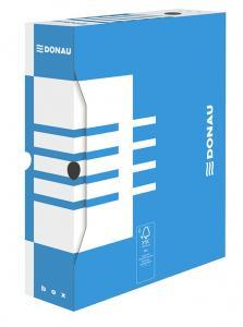Cutie arhivare  80mm, DONAU - albastru