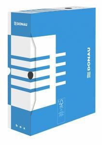 Cutie arhivare 100mm, DONAU - albastru