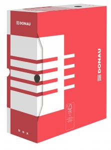 Cutie arhivare 120mm, DONAU - rosu