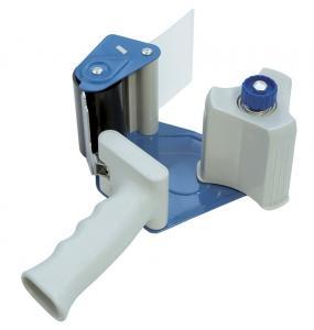 Dispenser pentru banda adeziva 75 mm x 66 m, pentru impachetat, DONAU