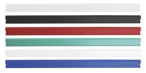 Bagheta A4 de legat documente,  6 mm, 10/set, DONAU - alb