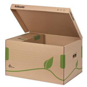 Container de arhivare ESSELTE Eco, cu capac pentru cutii 80/100