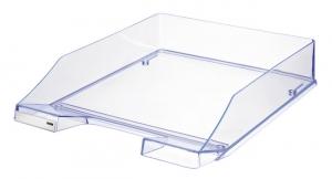 Tava documente HAN Signal - transparent cristal cu margini albastre