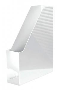 Suport vertical plastic pentru cataloage HAN iLine - alb lucios