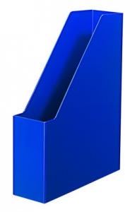 Suport vertical plastic pentru cataloage HAN iLine - albastru lucios