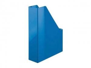 Suport vertical plastic pentru cataloage HAN iLine - albastru metalizat