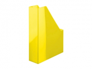 Suport vertical plastic pentru cataloage HAN iLine - galben metalizat