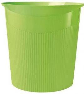Cos de birou pentru hartii, 13 litri, HAN Loop i-Colours - verde