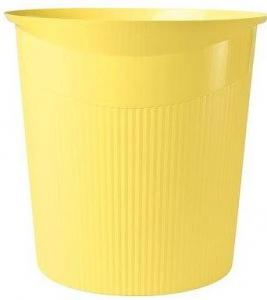 Cos de birou pentru hartii, 13 litri, HAN Loop i-Colours - galben