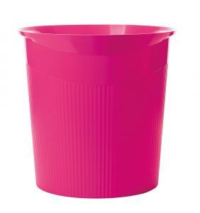 Cos de birou pentru hartii, 13 litri, HAN Loop Trend-Colours - roz