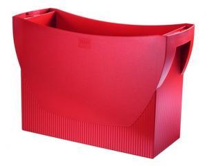 Suport plastic pentru 20 dosare suspendabile, HAN Swing - rosu