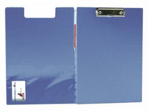 Clipboard dublu, plastifiat PVC, KANGARO - albastru