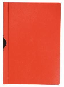 Dosar din plastic cu clema metalica Q-Connect - rosu