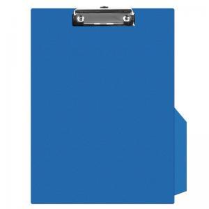 Clipboard simplu A4, plastifiat PVC, Q-Connect - albastru