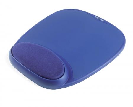 Kensington Mouse Pad Gel cu suport albastru pentru incheietura integrat