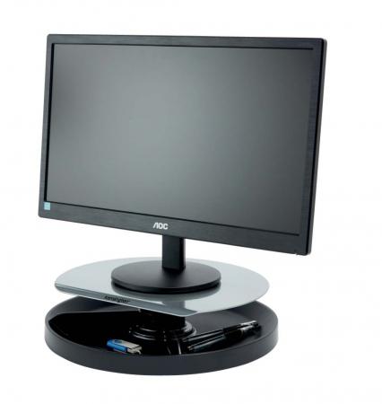Kensington SmartFit® Stand rotativ pentru monitor, negru