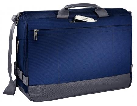 """Geanta LEITZ Complete Messenger 15,6"""""""" Smart Traveller - albastru/violet"""
