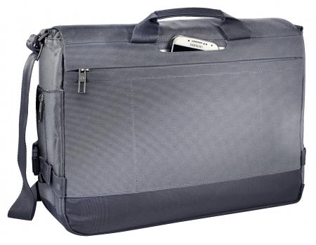 "Geanta LEITZ Complete Messenger 15,6"""" Smart Traveller - argintiu"