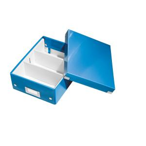 Cutie LEITZ Organizer Click & Store mica - albastru