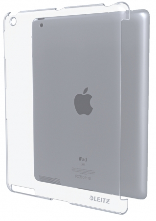 Carcasa LEITZ Complete, pentru noul iPad/iPad 2 - transparenta