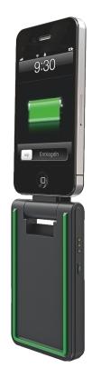 Incarcator LEITZ Complete, 3 în 1 pentru iPhone 4/4S - negru