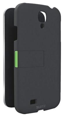 Carcasa LEITZ Complete, cu stativ pentru Samsung Galaxy S4 - negru
