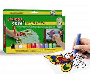 Set ALPINO Crea + Crystal Paint2